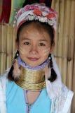 Longue tribu de cou en Thaïlande Photos stock