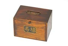 Longue vie antique de caractères chinois de jeu de Majong images libres de droits