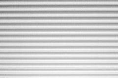 Longues files horizontales grises et blanches Photo stock