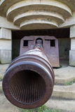 Longues sur Mer battery Stock Photography