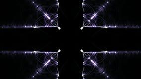 Longueur abstraite de fractale pour la conception créative clips vidéos