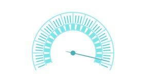 Longueur d'indicateur de pression illustration stock