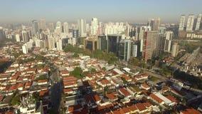 Longueur du bourdon de grandes villes Vidéo du bourdon de grandes villes banque de vidéos
