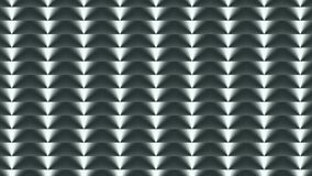 longueur Fond géométrique du gris 3D Le mouvement continu de haut en bas clips vidéos