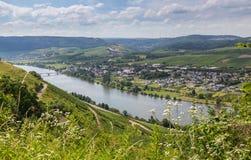 Longuich chez la Moselle Allemagne l'Europe photographie stock