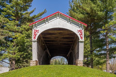 Longwood Covered Bridge Stock Images