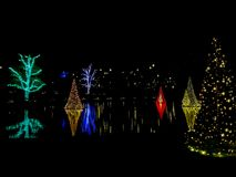 Longwood Gardens Christmas Celebration royalty free stock photography