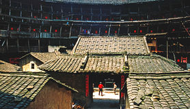 Longyan in Fujian Earthen scenery Stock Images
