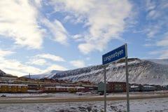 Longyearbyen Stock Image