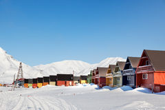 Longyearbyen Royalty Free Stock Photos