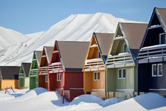 Longyearbyen Royalty Free Stock Images