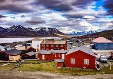 Longyearbyen lizenzfreies stockfoto