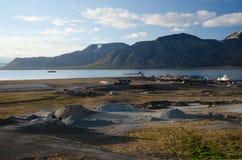 Longyearbyen Spitsbergen, Svalbard, Noorwegen royalty-vrije stock afbeelding