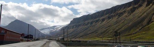 Longyearbyen Spitsbergen, Svalbard, Norway Stock Image