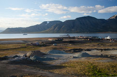 Longyearbyen Spitsbergen, Svalbard, Norway Royalty Free Stock Image