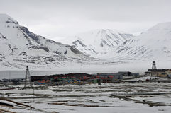 Longyearbyen, Svalbard Stock Photography
