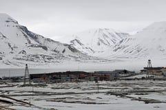 Longyearbyen, Svalbard photographie stock