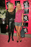 Loni Anderson,Tori Spelling Royalty Free Stock Photos