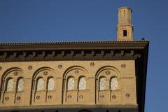 Lonja budynek w Saragossa obrazy stock