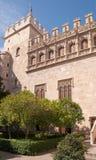 Lonja de la Seda de Valence Image stock