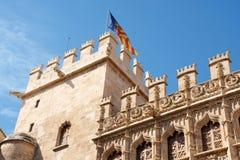 Lonja de la Seda en Valencia Imagen de archivo