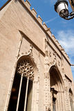 Lonja de la Seda or silk exchange in Valencia Royalty Free Stock Images