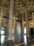 Lonja de la Seda (Silk exchange) in Valencia. Spain Royalty Free Stock Photo