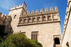 Lonja DE La seda van Valencia Royalty-vrije Stock Foto