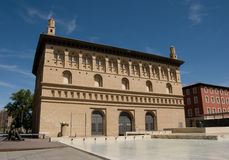 Lonja di Zaragoza fotografie stock libere da diritti