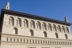 Lonja, old building in zaragoza Stock Photography