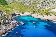 Free Lonley Bay On Mallorca, Spain. Royalty Free Stock Photos - 127950298