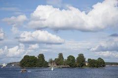 Lonna Island, Helsinki, Finlande Photo stock