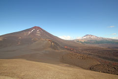 Lonquimay and tolhuaca volcano, Chile Stock Image