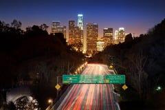 Lons Angeles Stadt lizenzfreies stockfoto