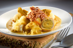 Lontong Photos stock