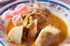 Lontong Royalty Free Stock Photography