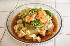 Lontong il Mie Immagine Stock