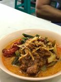 Lontong Sayur. Its all about indonesian food Royalty Free Stock Images