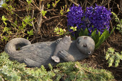 Lontra de pedra Foto de Stock Royalty Free