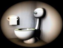 Loo 5 van de badkamers Royalty-vrije Stock Afbeeldingen