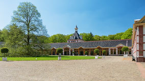 The Loo Palace located on the outskirts of Apeldoorn in the Neth Royalty Free Stock Images