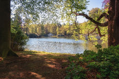 The Loo park located in Apeldoorn Royalty Free Stock Images