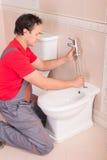 loodgieterswerk stock afbeeldingen