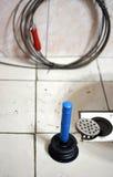 Loodgieterswerkprobleem stock fotografie