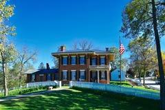 Loodglanshuis van Ulysses S toelage stock foto