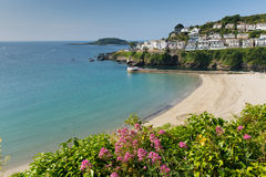 Looe beach Cornwall England Stock Photo