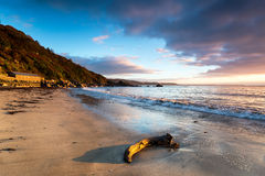 Looe Beach Stock Photo