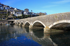 Looe Bridge Royalty Free Stock Images