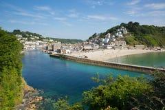Looe Cornwall Anglia Zdjęcie Royalty Free