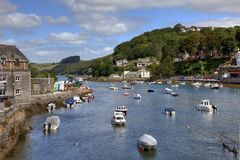 Looe Estuary, Cornwall Stock Photos